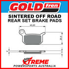 Goldfren KTM 50 SX Pro Senior LC 2004-2008 Sintered Off Road Rear Brake Pad GF19