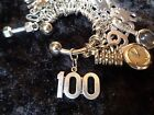 Celebrate Your 100 pound Weight Loss 100 lg for Weight Watchers Keychain