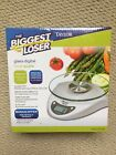 Taylor Biggest Loser Glass Digital Food Scale 66 lb Capacity Model 3831BL