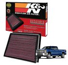 33-2466 K&N Replacement Air Filter 11-16 Chevy Silverado HD Duramax Diesel 6.6L