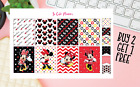 Minnie Mouse Set Planner stickers Full Box Happy Planner Erin Condren stickers