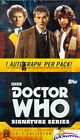 2017 Topps Doctor Who: Signature Series Factory Sealed HOBBY BOX-4 AUTOG