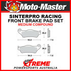 Moto-Master Husqvarna TXC450 2008-2010 Racing Sintered Medium Front Brake Pads