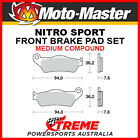 Moto-Master TM Racing EN 300 2000-2016 Nitro Sport Sintered Medium Front Brake P