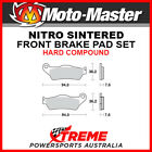 Moto-Master TM Racing EN 125 2003-2016 Nitro Sintered Hard Front Brake Pads