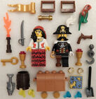 NEW LEGO PIRATE WEDDING COUPLE MINIFIG LOT minifigures bride groom valentines