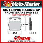 Moto-Master Suzuki TS250X 84-89 Racing GP Sintered Soft Front Brake Pads 091012