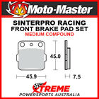 Moto-Master Kawasaki KLX140L Big Wheel 08-17 Racing Sintered Medium Rear Brake P