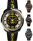 Bomberg Men's Bolt-68 GMT 45mm All PVD Watch - Choice of Color