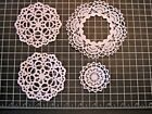 INTRICATE FILIGREE DOILY Die Cuts Papercrafting Scrapbooking