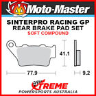 Moto-Master KTM 400 EGS 1996-1997 Racing GP Sintered Soft Rear Brake Pads 093212
