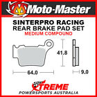 Moto-Master KTM 250 EXC-F 2007-2018 Racing Sintered Medium Rear Brake Pad 094411