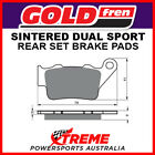 Goldfren BMW G650 X Challenge 2007-2009 Sintered Dual Sport Rear Brake Pads GF02