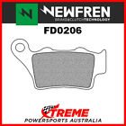 Newfren BMW G650 X Challenge 2007-2009 Sintered Touring Rear Brake Pads FD0206-T