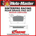Moto-Master Gas-Gas Pampera 450 2007 Racing Sintered Medium Rear Brake Pads 0918