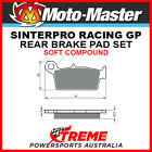 Moto-Master Gas-Gas Pampera 450 2007 Racing GP Sintered Soft Rear Brake Pads 091