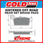 Goldfren Gas-Gas SM400 FSE 2003 Sintered Off Road Rear Brake Pads GF003-K5