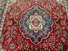 10X6 1940's AUTHENTIC HAND KNOTTED 70+YRS ANTQ TREE OF LIFE TABRIZ PERSIAN RUG
