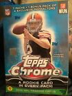 2014 Topps Chrome Football Factory Sealed Hobby Box -1 RC in EVERY Box