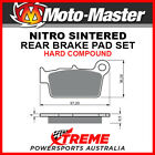 Moto-Master Aprilia RXV550 2006-2009 Nitro Sintered Hard Rear Brake Pad 094521