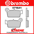 Brembo TM Racing MX 250 2005-2016 Sintered Dual Sport Rear Brake Pad 07YA41-SX