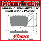 Motor Tech KTM 625 SXC 2005-2006 Semi-Metallic Rear Brake Pads FA208