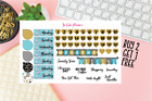 Shopaholic Planner stickers Date Covers Glitter Icons Happy Erin Condren sticker