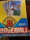 1990 Bowman Baseball Box