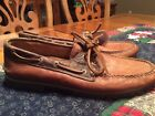 Mens Size 11 M Sperry Brown Leather Sperry Top Siders New With Tags