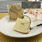 40 Purse Shaped Gold Compact Mirrors Wedding Bridal Baby Shower Party Favors
