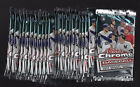 LOT (25) SEALED PACKS FROM BOX 2017 TOPPS CHROME UPDATE BASEBALL AARON JUDGE RC