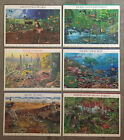 Nature of America Set of 6 US Postage Stamps Sheets MNH