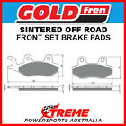 Goldfren Yamaha TT-R230 05-17 Sintered Off Road Front Brake Pad GF002-K5