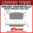 Motor Tech Gas-Gas Pampera 450 2007 Semi-Metallic Rear Brake Pads FA131