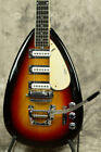 1965 VOX Mark IV Sunburst S/N 259085 Teardrop Electric Guitar Vintage w/HC E2330