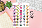 Adult Fails Planner stickers Funny Happy Planner Erin Condren stickers