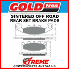 Goldfren Kawasaki GPZ900R 1984,1990-1991 Sintered Off Road Rear Brake Pad GF013-