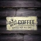 COFFEE SERVED HOT  Primitive Rustic Country Home Decor
