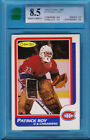 1986 / 87 O-PEE-CHEE ROOKIE CARD OF PATRICK ROY GRADED 8.5 NR-MNT