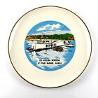 USS Arizona Memorial At Pearl Harbor Hawaii 9 in Vintage Collector Plate
