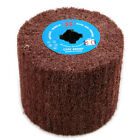 1pcs 120 Grit Non-woven Abrasive Flap Wire Drawing Polishing Wheel 120mmx100mm