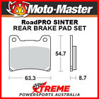 Moto-Master Yamaha YZF1000R Thunderace 1996-2002 RoadPRO Sintered Rear Brake Pad