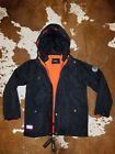 new DIESEL youth kids boys winter 3 IN 1 jacket coat black L 14 16 MSRP 249