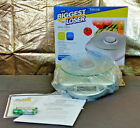 Biggest Loser 11lb Glass Digital Food Kitchen Scale Food Prep Model 3842BL NEW