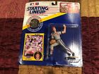 Starting Lineup Jim Abbott Figure W/Collector Coin & Collectible Card NIB