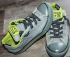 LITTLE BOYS CONVERSE ALL STAR SHOES SLIP ON SIZE 1 GRAY