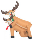 Inflatable Airblown Indoor and Outdoor Christmas Decoration 4 feet Humping