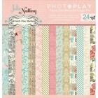 Scrapbooking Crafts Photo Play 6X6 Paper Pad French Flea Market Vintage Clothes