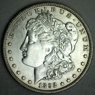 1892 O Morgan Silver One Dollar US Coin Almost Uncirculated New Orleans 1 T