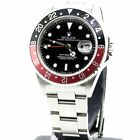 Rolex GMT Master II red black Ceramic Stainless Steel 116710 Automatic Men Watch